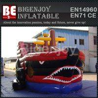 Inflatable pirate ship,jumping slide with high quality,Inflatable slide high quality