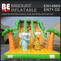 Elephant animal slide,inflatable animal slide,animal slide