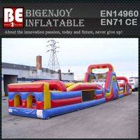 Commercial giant obstacle course,obstacle course challenge Inflatable,obstacle course