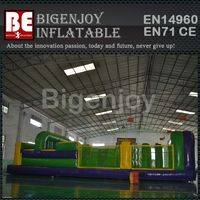 7 Element 35ft Obstacle Course,Inflatable Tunnel Obstacle Course,Obstacle Course Inflatable Tunnel