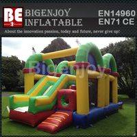 Giant inflatable bouncer combos,combos inflatable obstacle course,bouncer combos obstacle course