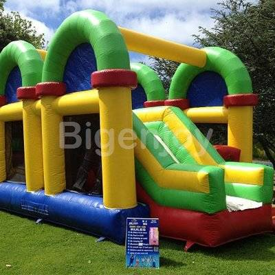 Giant inflatable bouncer combos inflatable obstacle course