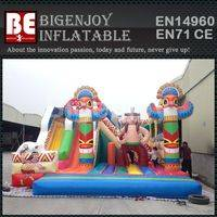 Indians inflatable obstacle course,kids play obstacle course,obstacle course