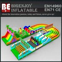 inflatable slide and combo,slide and combo bounce house,slide and combo bounce house