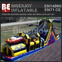 Victory lap obstacle course,Inflatable car challenge course,obstacle course challenge course