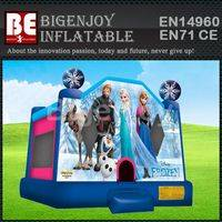 frozen jumping house,Frozen house inflatable,jumping house inflatable