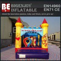Winnie the Pooh themed bouncer,bouncer Trampoline for kids,Winnie the Pooh Trampoline