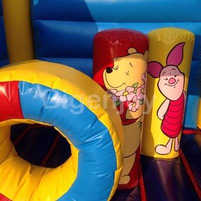 Cheap Winnie the Pooh themed bouncer Trampoline for kids
