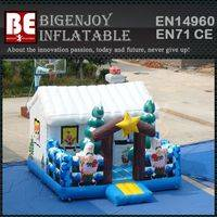 Inflatable Jumping Castles,Bouncer Jumping Castles,Winter Wonderland Bouncer