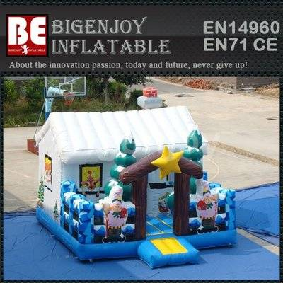 Inflatable Winter Wonderland Bouncer Jumping Castles