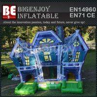 Spook Haunted Bouncer,Inflatable Bouncer,Haunted House Inflatable Bouncer