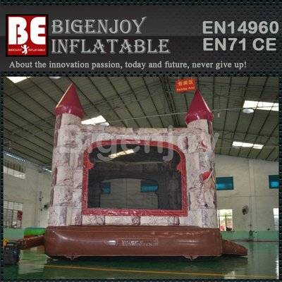 Princesses and knights inflatable castle bouncer