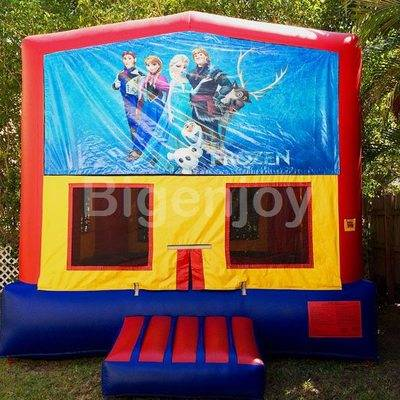 Frozen theme cheap inflatable bouncy castle for sale