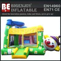 bouncer for kids,Funny clown inflatable,clown inflatable bouncer