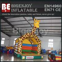 PVC material jumping,giraffe bouncer for sale,PVC giraffe bouncer