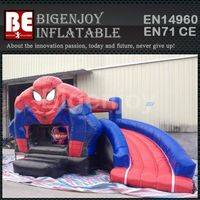 bounce and slide combo,Spiderman combo,Spiderman inflatable bounce and slide