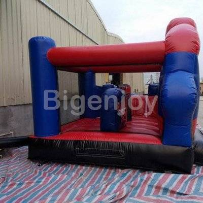 Spiderman Adventure inflatable bounce and slide combo
