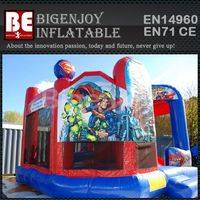 Bounce House,Inflatable Superhero Dome,Superhero Dome Bounce
