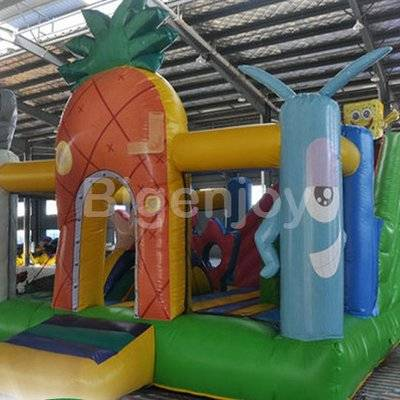 Jumping Castle Spongebob Inflatable Bounce House