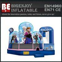 bouncer with slide,Princess inflatable bouncer,Frozen bouncer with slide