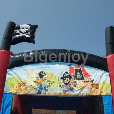 Inflatable Pirate 3 in 1 Combo