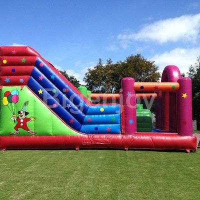 The bouncy house of 5 in 1 inflatable combo