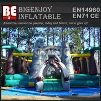 inflatable Jurassic fun park,Giant inflatable amusement park,Giant Jurassic fun park