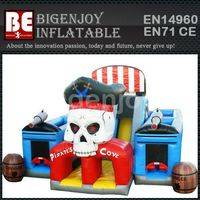 Pirate bouncer Combo,Inflatable 5 in 1 Combo,Inflatable Pirate bouncer