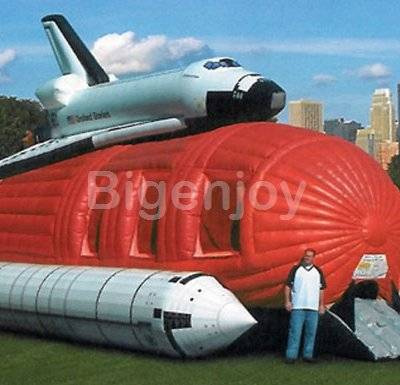 Commercial Inflatabl Spaceship bounce