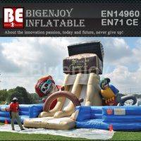 Inflatable treasure bounce,Inflatable bounce house,island bounce house