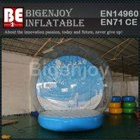 Giant Globe Ball,Snow Bubble Globe Ball,Giant Christmas Bubble Ball
