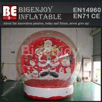 snow globe tent,Christmas inflatable tent,inflatable snow globe