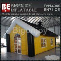 Advertising party tent,outdoor inflatable lawn party tent,large inflatable lawn tent