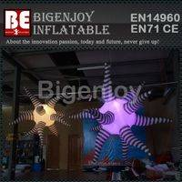 inflatable lighting hang star,Color-changing star,Color-changing inflatable lighting