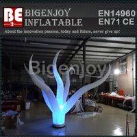 LED lamps inflatable flower,inflatable stage decoration,LED decoration flower