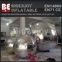 PVC inflatable mirror ball,disco mirror ball,inflatable disco ball
