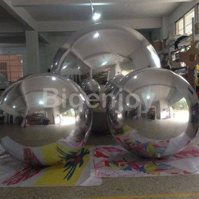 PVC inflatable mirror ball disco mirror ball