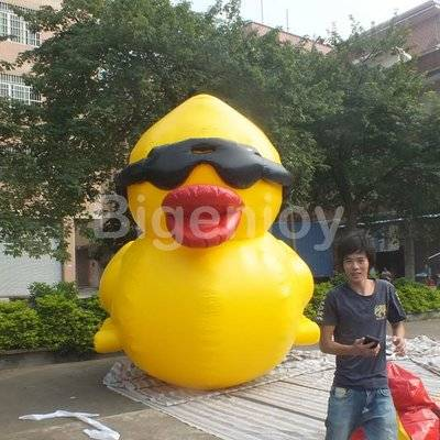 Air Tight Inflatable Duck For Advertising