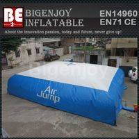 air bag for skiing,Inflatable stunt air bag,inflatable jump air bag