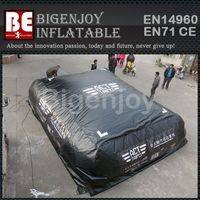 airbag for stunt chanllege,Outdoor big inflatable airbag,inflatable airbag