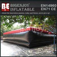 inflatable skiing air bag,stunt inflatable air bag,Commercial quality air bag
