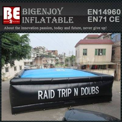 Professional Inflatable Big Stunt Air Bag