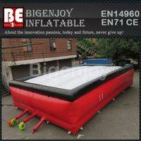big air bag freestyle,inflatable big air bag,Customized big air bag