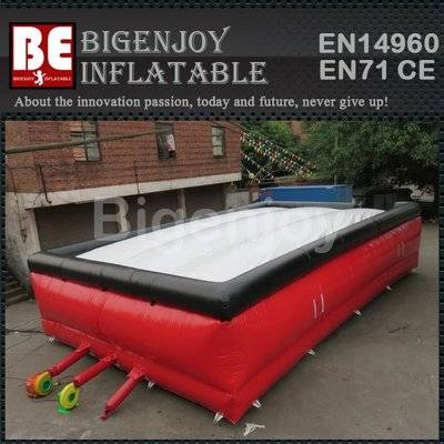 Customized inflatable big air bag freestyle