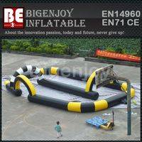 commercial race track,inflatable karting race track,Used inflatable track