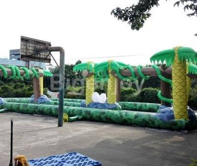 Inflatable sport games inflatable racing track