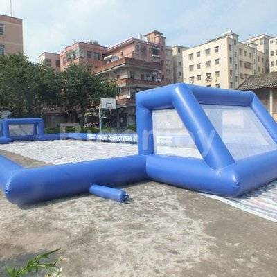 Adults and Kids Inflatable Soap Football Field