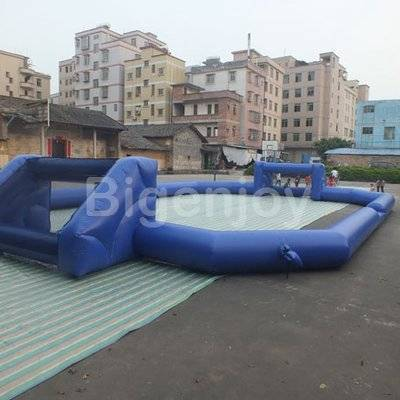 Commercial inflatable football field portable soccer field
