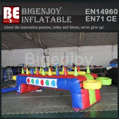 Air hockey inflatable hockey games