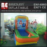 Inflatable sport games,Batting Cage with baseball,Inflatable Batting Cage